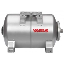 Varem 13 Gallons Horizontal St. Steel 304 Pressure tanks for potable water