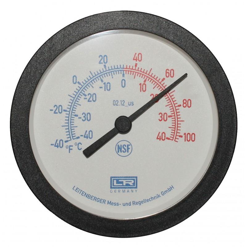 Leitenberger HVAC Thermometer 02.12 Analog