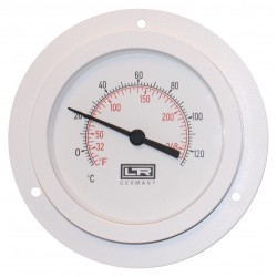 Heating Thermometer 02.22 Analog Panel Mount ABS Case