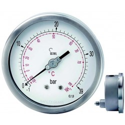 Leitenberger NH3 Pressure Gauge type H