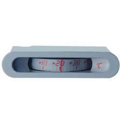 HVAC Thermometer 02.00 11x64 Analog Panel ABS Case