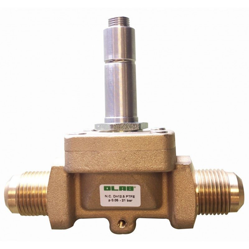 Olab 30210 Hvac Pilot Controlled Solenoid Valve With Flange Sae Flare Connection