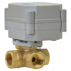 "Bonomi 8E064-00 2W DM Brass Valve FP on/off Electric P. Actuator 1/4""- 4"""
