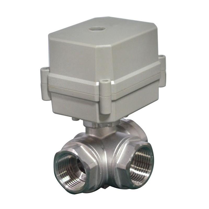 """Bonomi 8E064-00 2W DM Brass Valve FP on/off Electric P. Actuator 1/4""""- 4"""""""