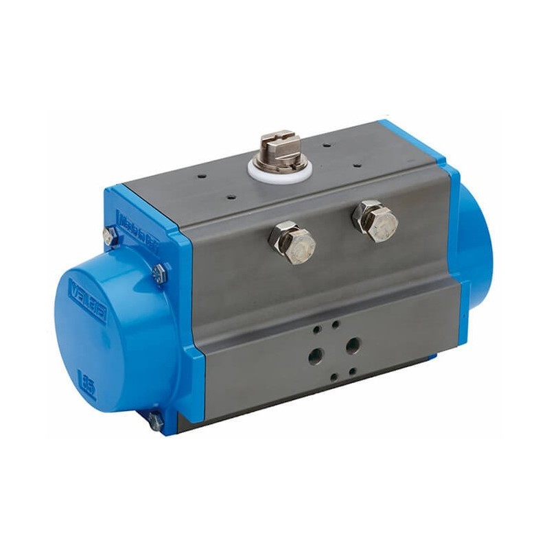 """Bonomi 8P0082 - Brass NPT Actuated Ball Valve With Spring Return Actuator Connection 1/4"""" to 4"""""""