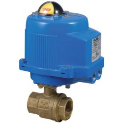 """Bonomi M8E064-00 2-way on-off Actuated Brass Valve Sizes up to 4"""""""