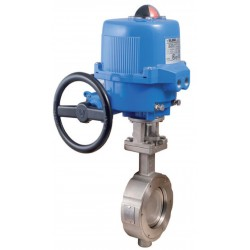 """Bonomi EN500S-00 butterfly valve with Std ON/OFF electric plastic actuator 1 1/2""""-10"""""""