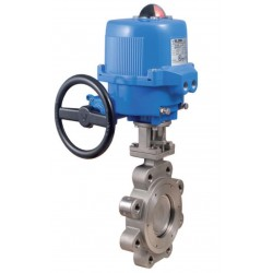 """Bonomi DAN500N butterly valve with double acting actuator 2"""" to 6"""""""