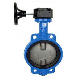 Bonomi N500S Lever operated butterfly valve EPDM seat wafer body St Steel disc. 3