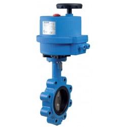 "Bonomi EN500S-01 butterfly valve w/fail-safe battery backup elect actuator 1""1/2-12"""